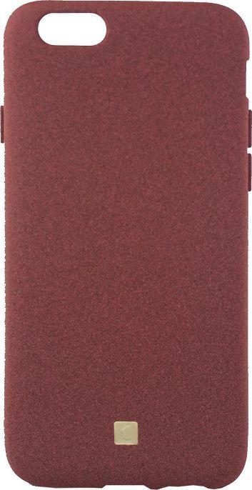Crayon Pebble, Burgundy чехол для iPhone 6/6SCRN-PEIP6-brgЧехол изготовлен из термопластичного полиуретана (ТПУ) - материала, который не подвержен замерзанию и резким перепадам температур. То есть телефон в чехле из ТПУ не тормозит на морозе. ТПУ не подвержен деформации, устойчив к разрыву и не проводит электрический ток. Чехол из ТПУ не притягивает пыль, устойчив к царапинам и другим механическим повреждениям, обладает противоударными свойствами. Чехол не утолщает устройство, обеспечивая легкий доступ ко всем функциональным клавишам телефона. Внешняя поверхность чехла выполнена из материала с интересной текстурой. Необычно, стильно, надежно.