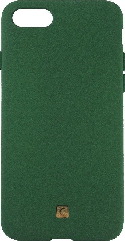 Crayon Pebble, Green чехол для iPhone 7CRN-PEIP7-greenЧехол изготовлен из термопластичного полиуретана (ТПУ) - материала, который не подвержен замерзанию и резким перепадам температур. То есть телефон в чехле из ТПУ не тормозит на морозе. ТПУ не подвержен деформации, устойчив к разрыву и не проводит электрический ток. Чехол из ТПУ не притягивает пыль, устойчив к царапинам и другим механическим повреждениям, обладает противоударными свойствами. Чехол не утолщает устройство, обеспечивая легкий доступ ко всем функциональным клавишам телефона. Внешняя поверхность чехла выполнена из материала с интересной текстурой. Необычно, стильно, надежно.