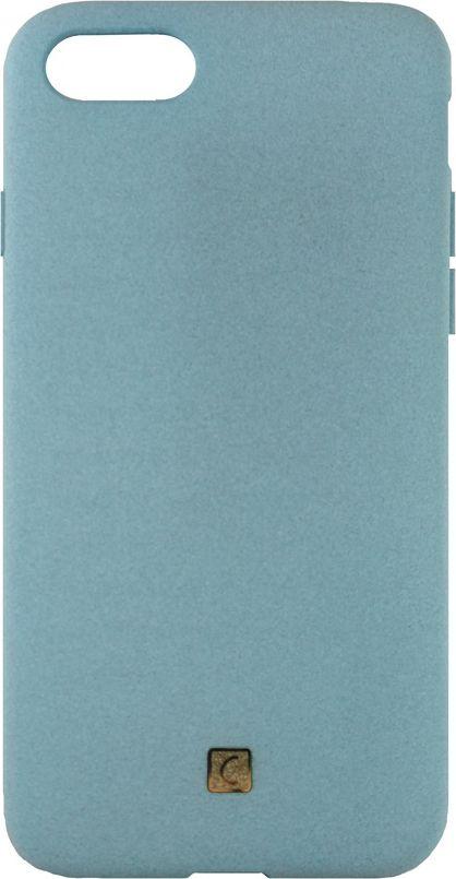 Crayon Pebble, Sky Blue чехол для iPhone 7CRN-PEIP7-sky blueЧехол изготовлен из термопластичного полиуретана (ТПУ) - материала, который не подвержен замерзанию и резким перепадам температур. То есть телефон в чехле из ТПУ не тормозит на морозе. ТПУ не подвержен деформации, устойчив к разрыву и не проводит электрический ток. Чехол из ТПУ не притягивает пыль, устойчив к царапинам и другим механическим повреждениям, обладает противоударными свойствами. Чехол не утолщает устройство, обеспечивая легкий доступ ко всем функциональным клавишам телефона.Внешняя поверхность чехла выполнена из материала с интересной текстурой. Необычно, стильно, надежно.