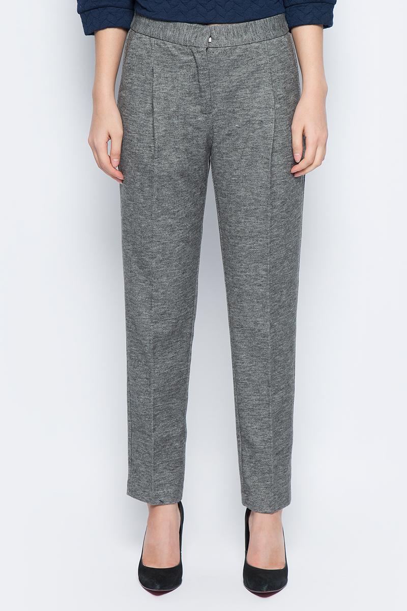 Брюки женские Baon, цвет: серый. B297516_Zircon Melange. Размер M (46) брюки женские baon цвет голубой b298028