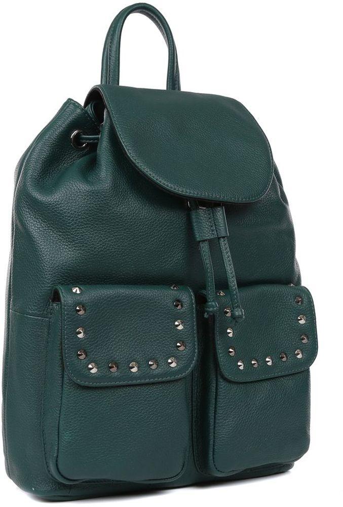 Рюкзак женский Fabretti, цвет: зеленый. 15465C1-W1-686/018 сотовый