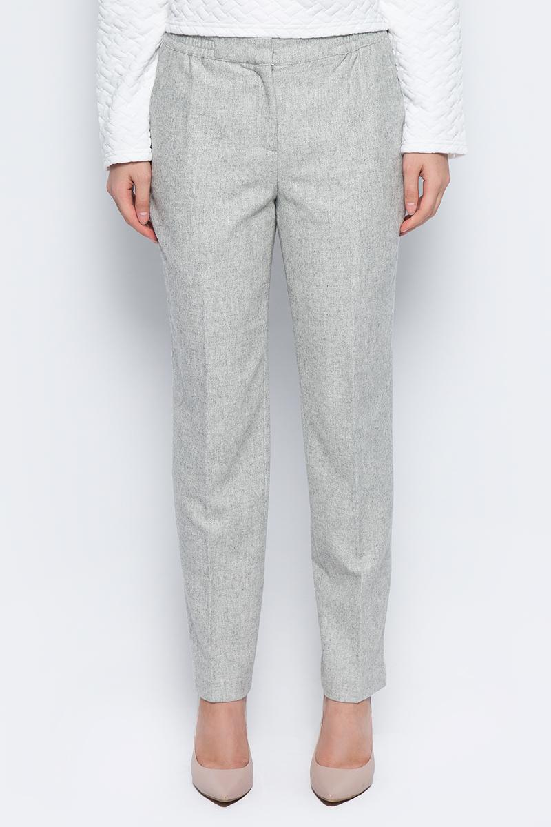 Брюки женские Baon, цвет: серый. B297522_Silver Melange. Размер L (48) брюки baon брюки