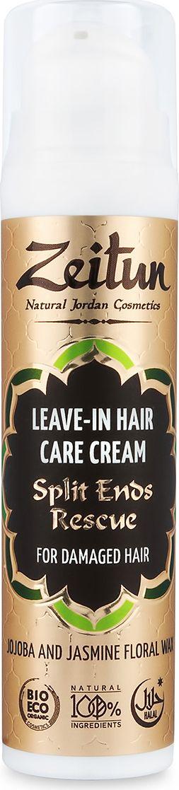 Зейтун Крем-уход для волос Зейтун Жожоба и жасминовый воск, против сечения волос, 50 млZ0807В составе несмываемого ухода для секущихся волос – природные компоненты, которые способны сотворить чудо и склеить обратно поврежденные кончики, а также предотвратить сечение здоровых: Масло жожоба – эффективнейший компонент для восстановления волос. Являясь по сути уникальным жидким воском с отличной способностью к впитыванию, жожоба восстанавливает поврежденные участки волосяных стержней изнутри, не обременяя локоны утяжелением. Жасминовый воск обладает отличными защитными и склеивающими свойствами: с его помощью расслоившиеся кончики вновь спаиваются, приобретая гладкость и блеск. Воск жасмина также придает форму прическе и упрощает процесс укладки. Эфирные масла розмарина, мяты и шалфея способствуют длительному увлажнению волос по всей длине и окутывают вас тонким освежающим ароматом. Кокосовое и оливковое масла обеспечивает незаменимое питание, увлажнение и оздоровление волос, которые волшебно сказываются на их внешнем виде. Несмываемый Крем не содержит силиконов, консервантов, отдушек – все единицы состава имеют исключительно натуральное, органическое происхождение.