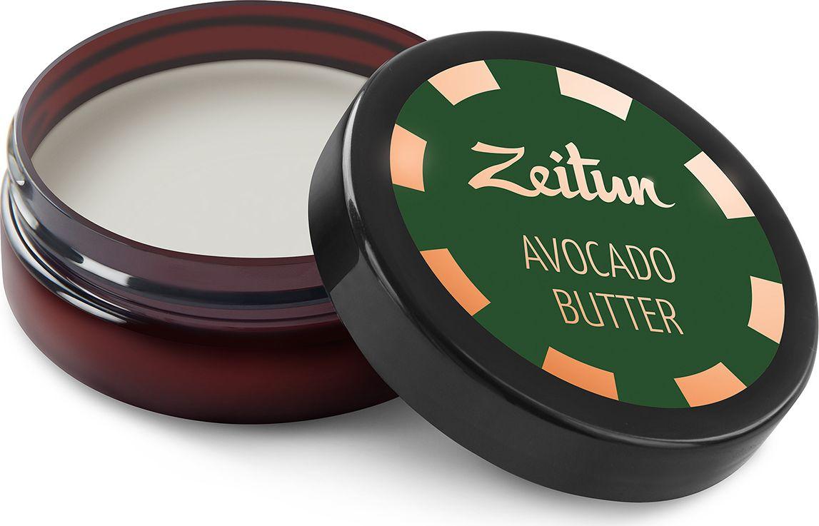 """Зейтун Натуральное Масло Авокадо чистое, баттер, 50 млZ5125Масло авокадо – одно из самых сбалансированных и полезных средств, созданных Природой для поддержания красоты, здоровья и молодости кожи и волос. В виде твердого баттера оно идеально подходит для ухода за уставшей и увядающей кожей, а также сухими и поврежденными волосами.Плод авокадо обладает богатейшим витаминно-микроэлементным составом, включающим антиоксиданты, витамины группы B, железо, кальций, магний. Его масло способствует разглаживанию морщинок, смягчает, регенерирует и заметно омолаживает кожу, возвращает жизненную силу, эластичность и роскошный блеск волосам.Твердое масло Зейтун """"Авокадо"""" – ваша возможность почувствовать безусловную силу чистейшего, 100% натурального сырья, которое в ваших же руках превращается в настоящий эликсир красоты."""