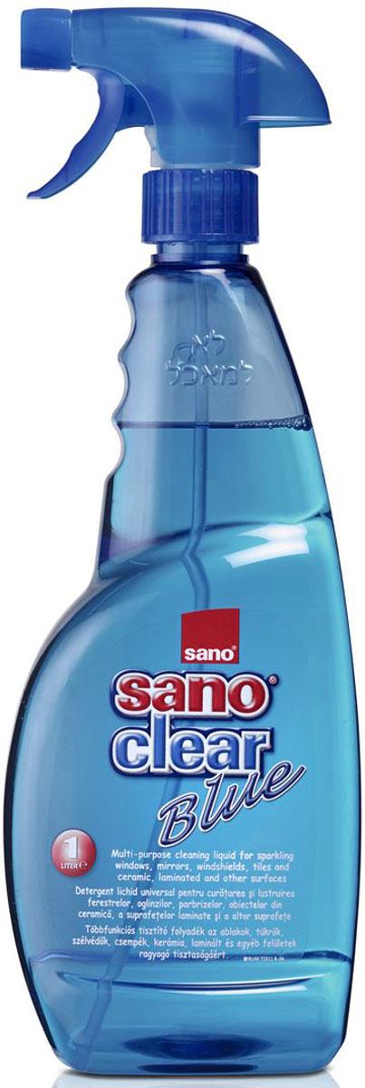 Средство для мытья стекол и различных поверхностей Sano Сlear Blue, 1 л600006Средство Sano Сlear Blue - это многофункциональная жидкость для чистки и наведения блеска на окнах, зеркалах, изделиях из керамики, ламинированных и других поверхностях.Товар сертифицирован.Как выбрать качественную бытовую химию, безопасную для природы и людей. Статья OZON Гид