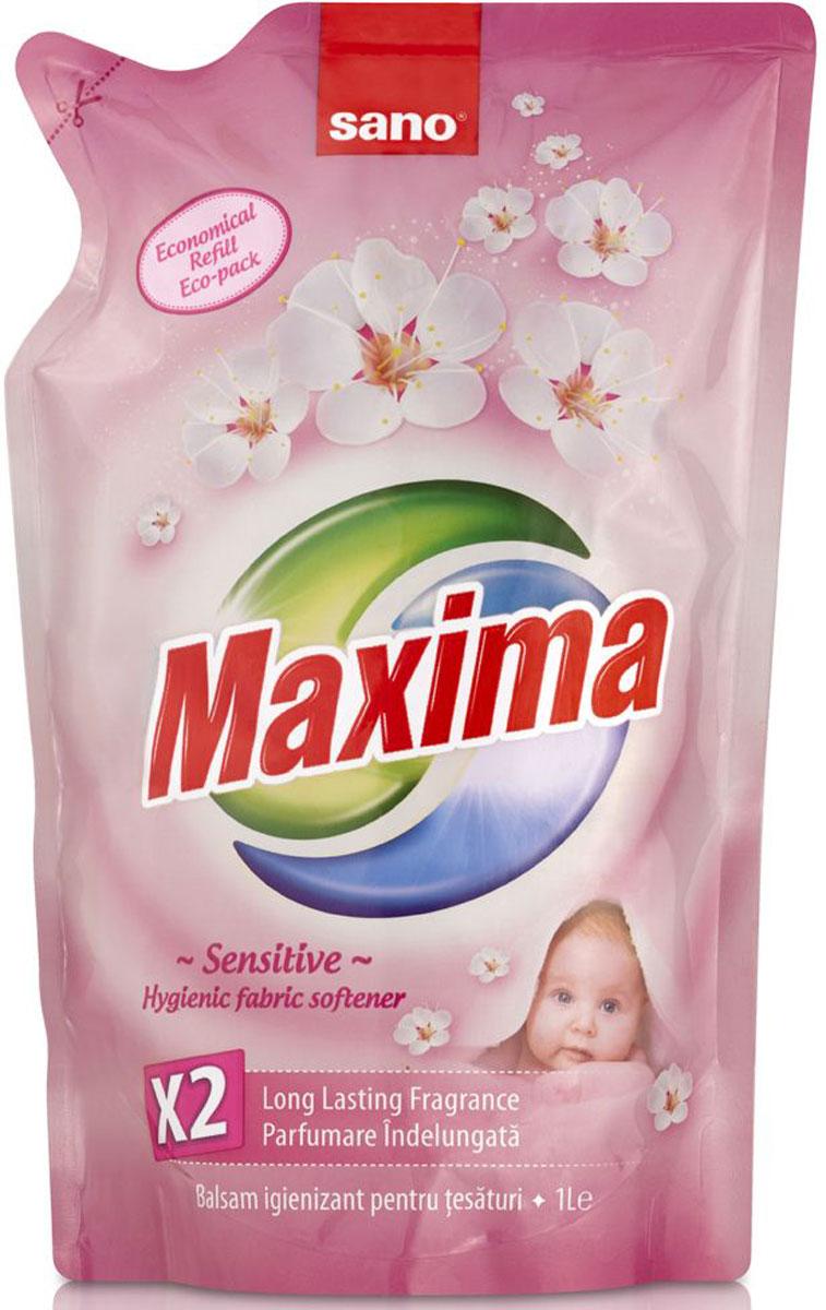 Кондиционер для белья Sano Maxima Sensitive, 1 л600054Кондиционер для белья Sano Maxima Sensitive предназначен для стирки детской одежды из хлопчатобумажных, льняных и синтетических тканей, а также одежды людей с чувствительной кожей. Подходит для стирки даже в жесткой воде, содержит отдушки для удаления неприятных запахов. Обладает антистатическим эффектом, уничтожает микробы, имеет приятный аромат.Товар сертифицирован.