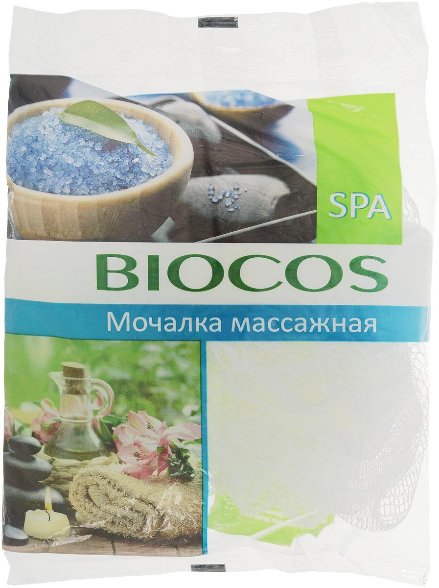 BioCos Мочалка массажная для тела Spa, цвет: белый14498_белыйМассажная мочалка для тела BioCos Spa идеально подходит для повышения тонуса и легкого пилинга вашей кожи. Регулярное использование мочалки улучшает кровообращение, повышает тонус кожи и способствует повышению ее эластичности. Мочалка превосходно пенится и может использоваться с любыми видами моющих средств для тела. Рекомендации по применению: перед первым применением мочалку рекомендуется промыть в воде. После использования ее необходимо тщательно прополоскать и просушить.