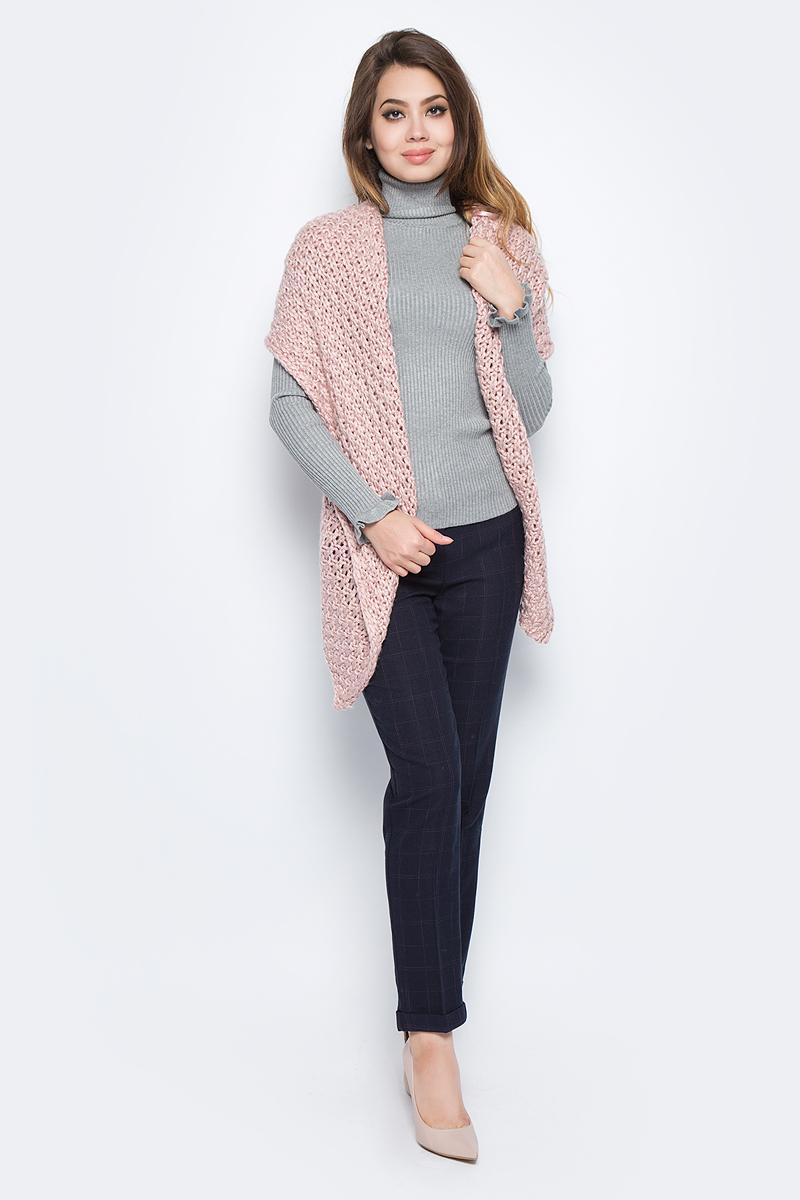 Кардиган женский Baon, цвет: розовый. B147513_Lotus. Размер M (46)