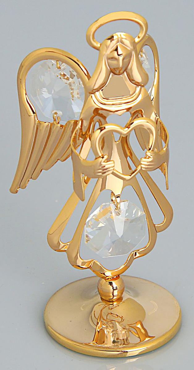 Миниатюра Ангел, с кристаллами Сваровски, 3 х 5 х 8 см. 19250201925020Перед вами — сувенир в полном смысле этого слова. И главная его задача — хранить воспоминание о месте, где вы побывали, или о том человеке, который подарил данный предмет. Преподнесите эту вещь своему другу, и она станет достойным украшением его дома.
