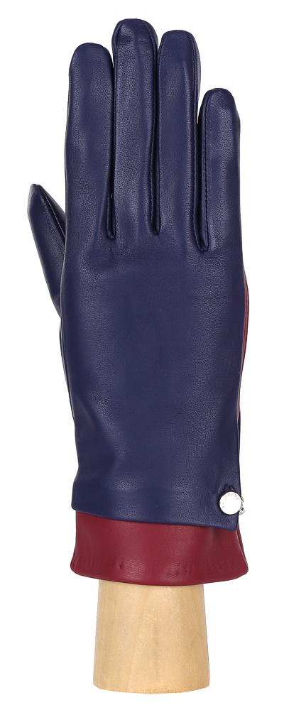 Перчатки женские Fabretti, цвет: синий. 15.7-12/8s. Размер 7