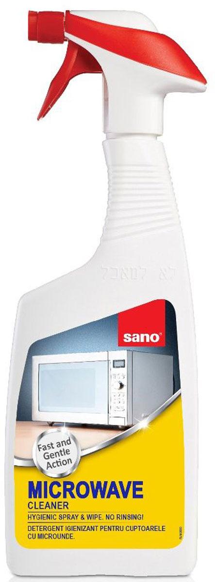 Средство для чистки микроволновых печей Sano Microwave Cleaner, 750 мл600003Microwave CleanerОчищает быстро и без усилий. Удобно в применении. Удаляет жир и уничтожает микробы. Нет необходимости в последующей промывки водой: достаточно разбрызгать средство на поверхность, а затем вытереть ее насухо. Эффективно очищает микроволновые печи 700мл