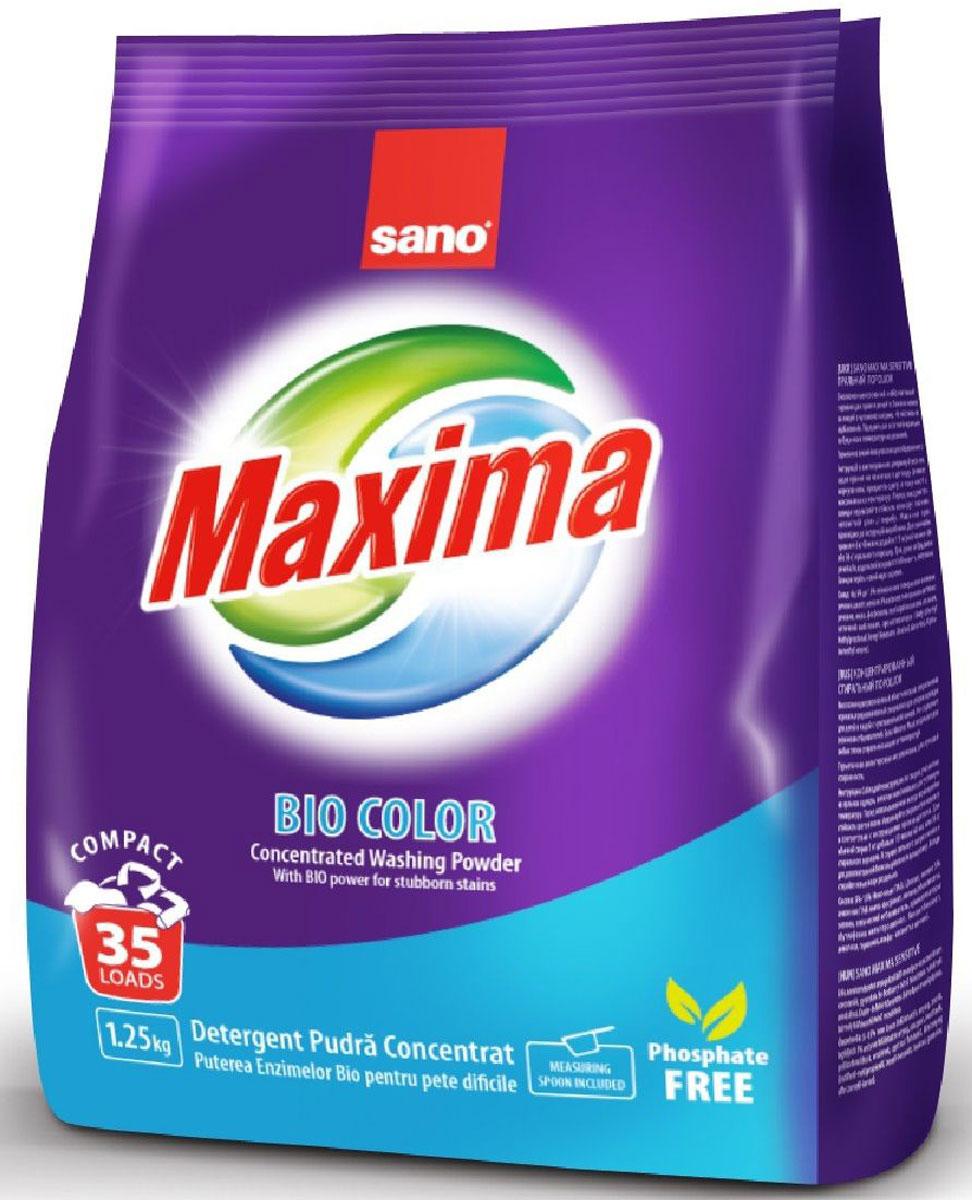 Порошок стиральный Sano Maxima Bio, концентрат, 1,25 кг sano ist c5 080 8kva servo transformer