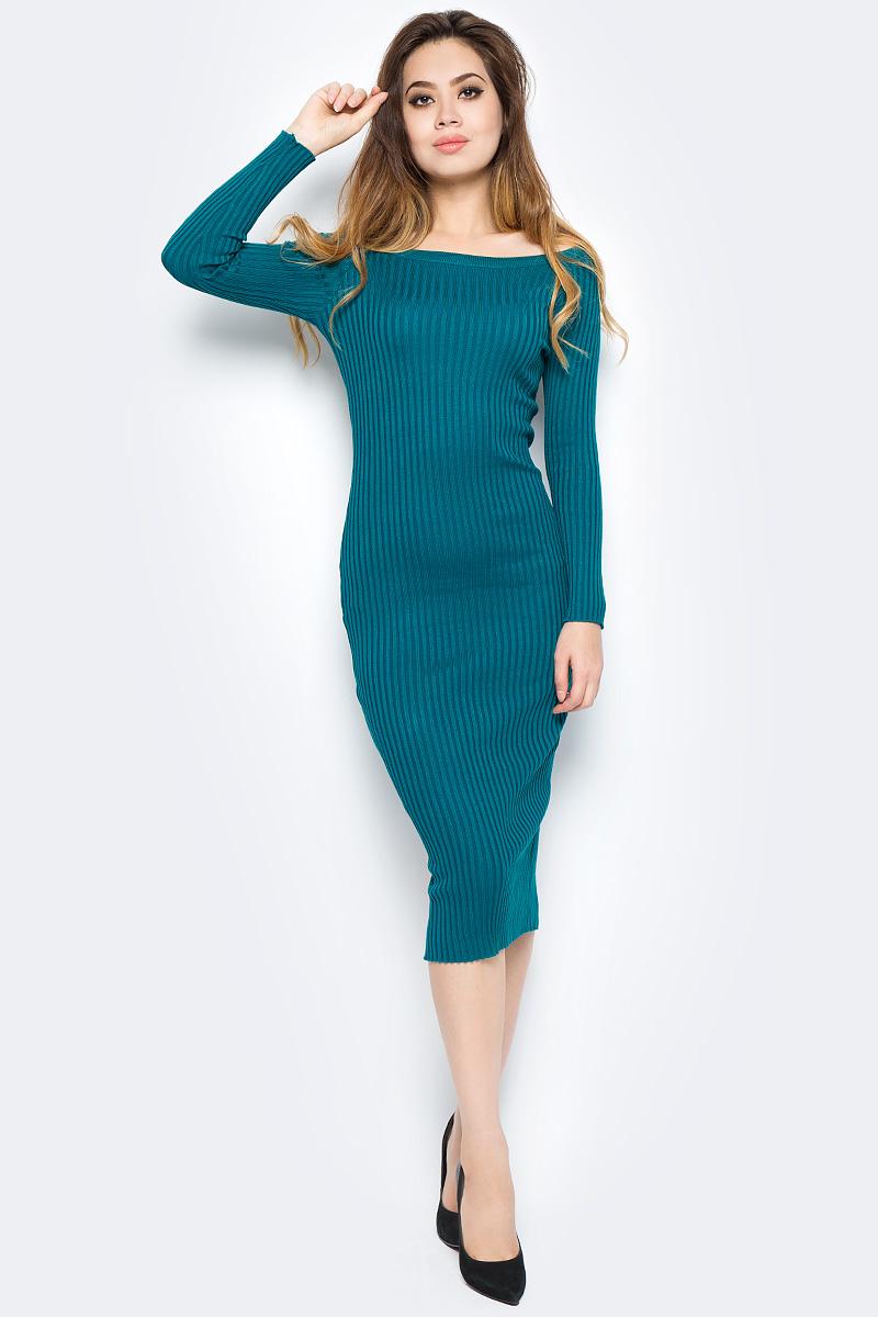 Платье Bello Belicci, цвет: морская волна. DLA3_24. Размер S/M (42/46)DLA3_24