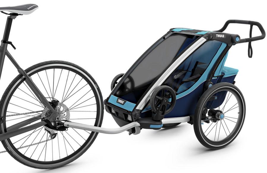 Thule Детская многофункциональная коляска Chariot Cross 1 цвет голубой универсальная коляска smile line indiana 2 в 1 29
