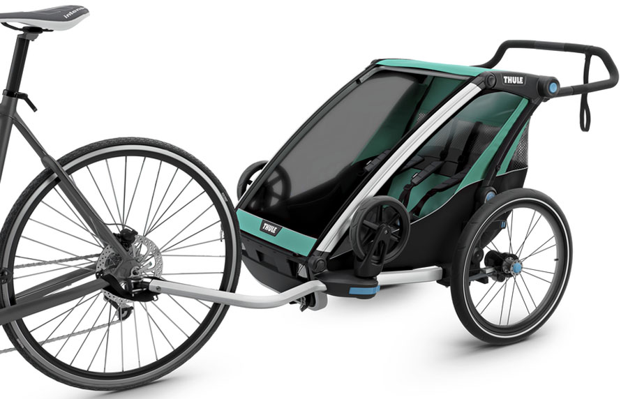 Thule Детская мультиспортивная коляска Chariot Lite 2 цвет изумрудный портбукетница цена и где можно