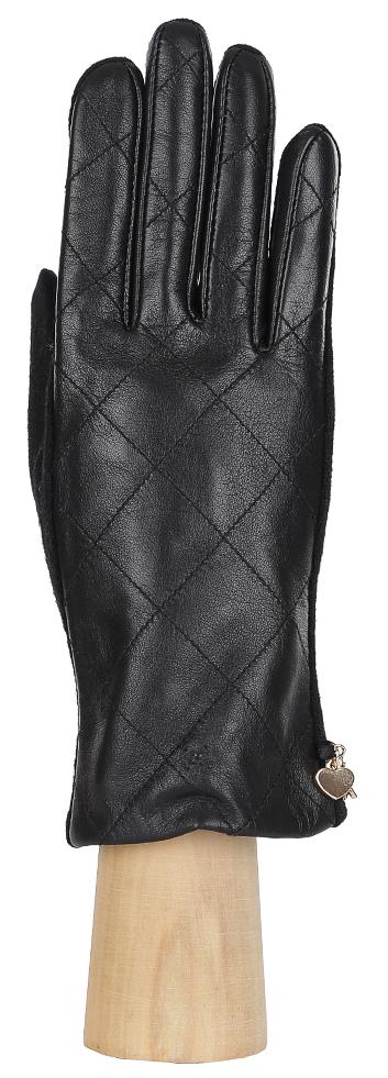 Перчатки женские Fabretti, цвет: черный. 3.23-1. Размер 8