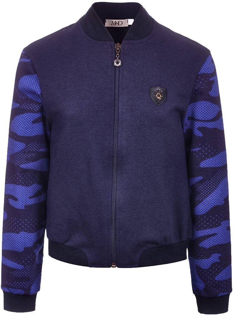 Джемпер для мальчика M&D, цвет: темно-синий. WJZ17016S29. Размер 140WJZ17016S29