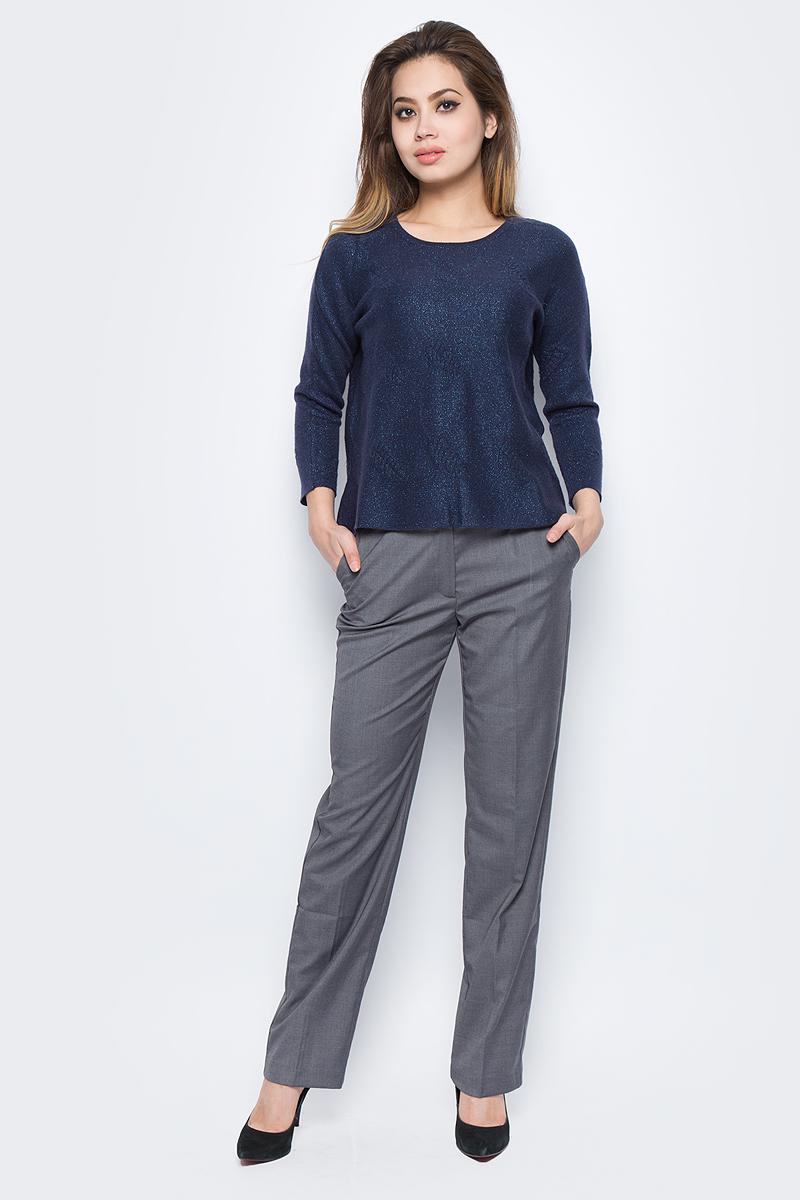 Джемпер женский Baon, цвет: темно-синий. B167501_Dark Navy. Размер XL (50) джемпер женский baon цвет темно синий b136561 размер m 46