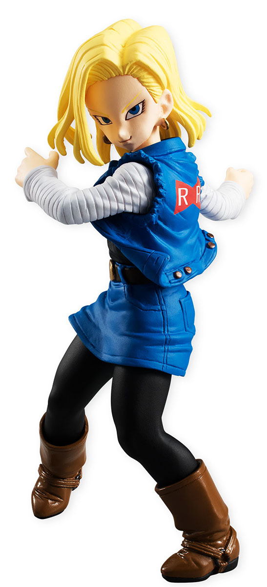 Bandai Фигурка Dragon Ball Styling Android 18 bandai фигурка o p styling girls boa nefeltari vivi 14 см