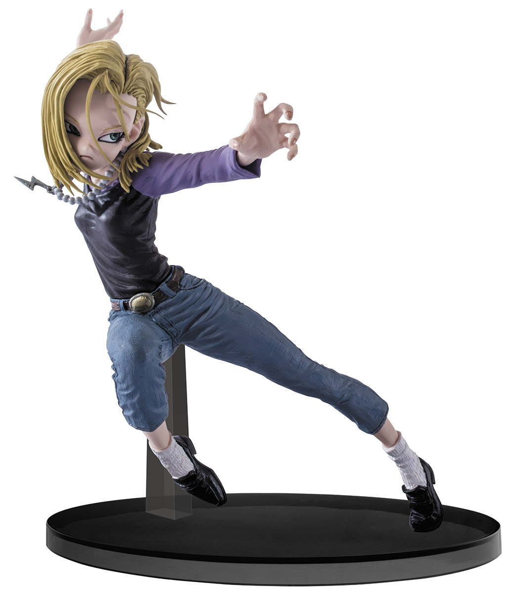 Bandai Фигурка Dragon Ball Z Colosseum SCultures Big Budoukai 6 Vol.3 Android 18 100% original banpresto big zoukei tenkaichi budoukai 3 vol 4 collection figure son goku from dragon ball