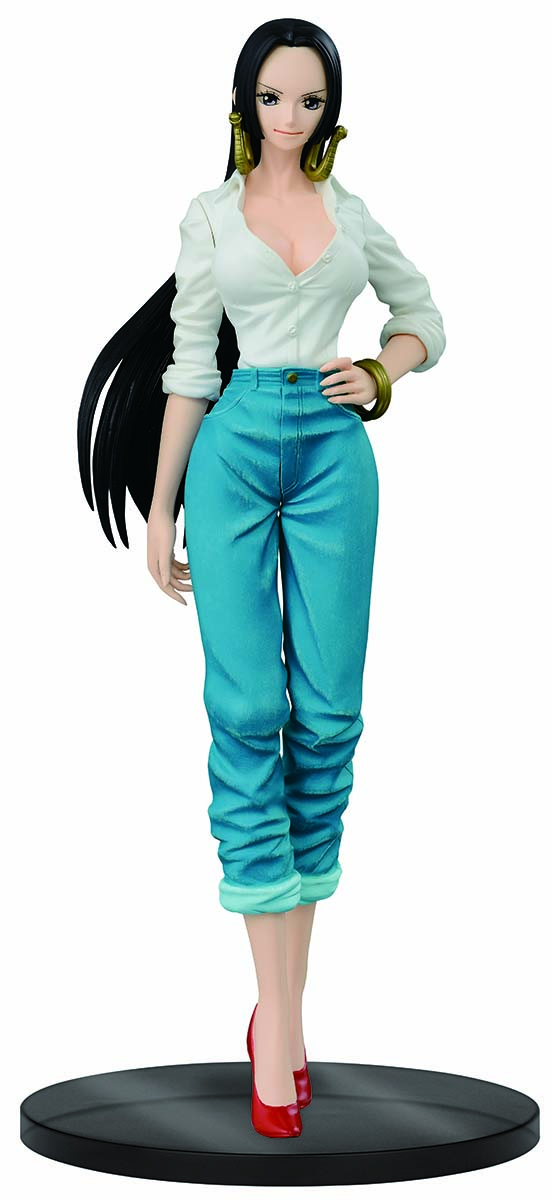 Bandai Фигурка One P Jeans Freak The Last World 21 см fresh style back criss cross one piece floral swimwear for women