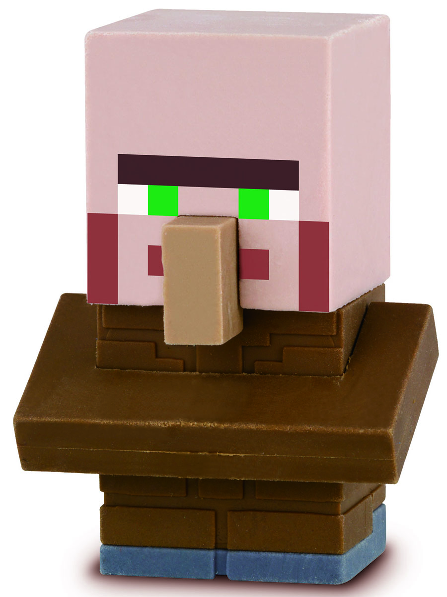 Bandai Фигурка Minecraft Mine-Charact Box Villager 4 см bandai фигурка minecraft mine charact box villager 4 см
