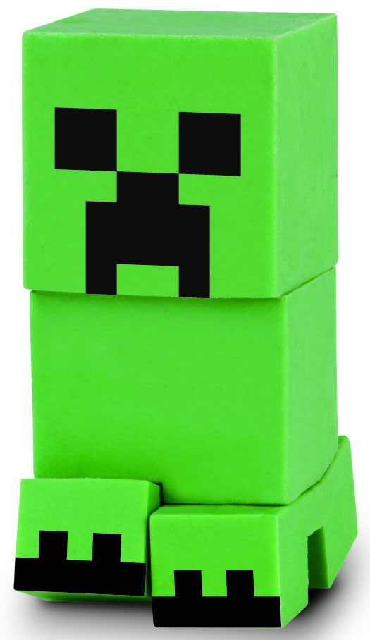 Bandai Фигурка Minecraft Mine-Charact Box Creeper 4 см