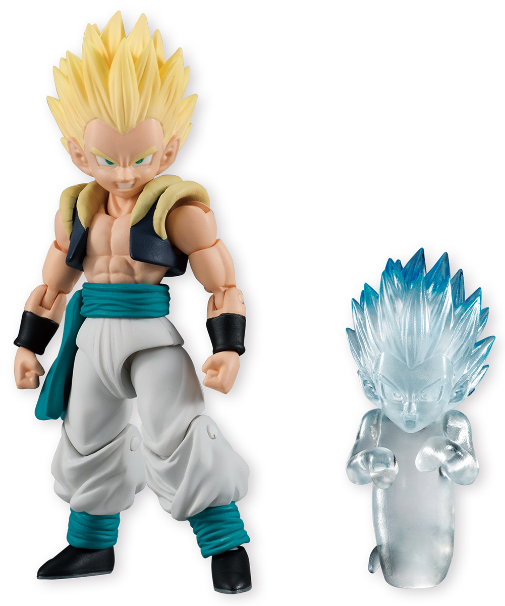 Bandai Фигурка Dragon Ball Shodo Gotenks & Ghost bandai фигурка dragon ball z super master stars diorama the son goku