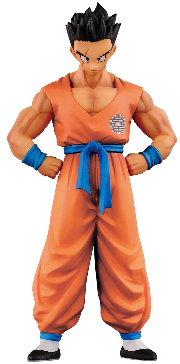 Bandai Фигурка Dragon Ball Z DXF Chozousyu Vol.5 Yamcha dragon ball z msp master stars piece the son goku chocolate manga ver pvc figure collectible model toy 27cm