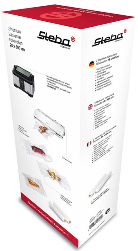 Steba Vacuum Roll 28*600 рулоны для вакуумного упаковщика steba sv 50 су вид