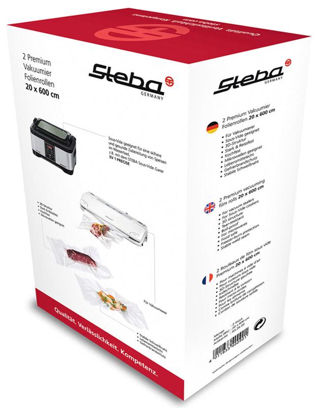 Steba Vacuum Roll 20*600 рулоны для вакуумного упаковщика steba sv 50 су вид