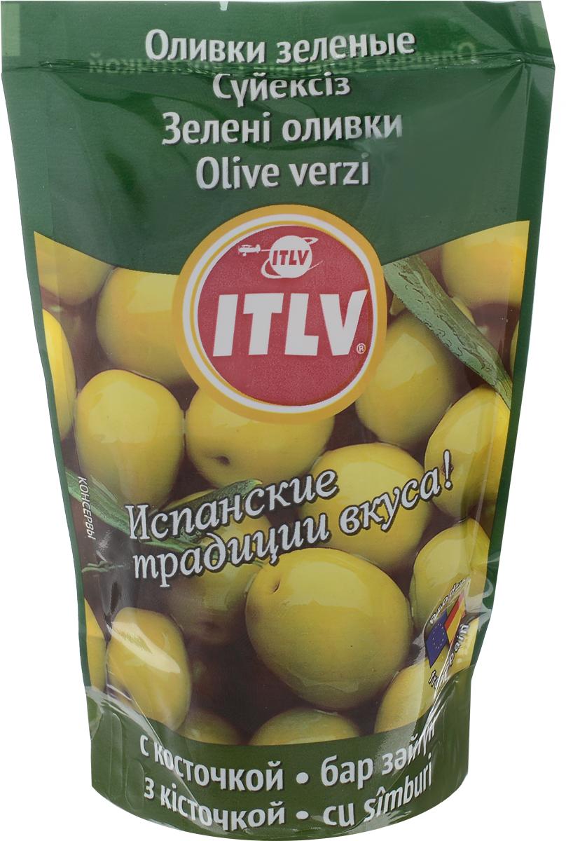 ITLV оливки с косточкой, 195 г
