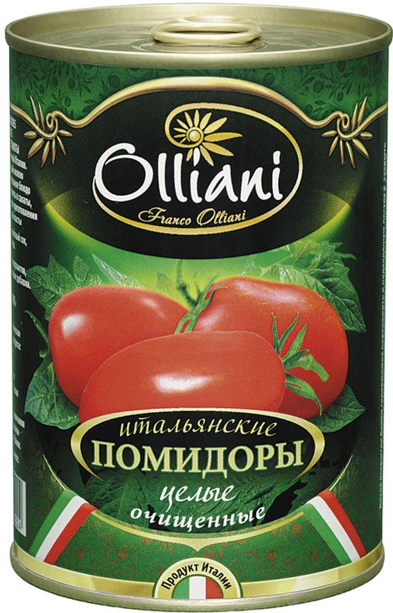 Olliani помидоры целые очищенные, 425 г4650058460224Сочные итальянские томаты в собственном соку. Используются исключительно летние томаты. Яркие, сочные, сладкие томаты вобравшие в себя тепло средиземноморского солнца, станут украшением любого стола. Такие томаты прекрасно подходят как для самостоятельной закуски, так и для пиццы, пасты, тушеных овощей.