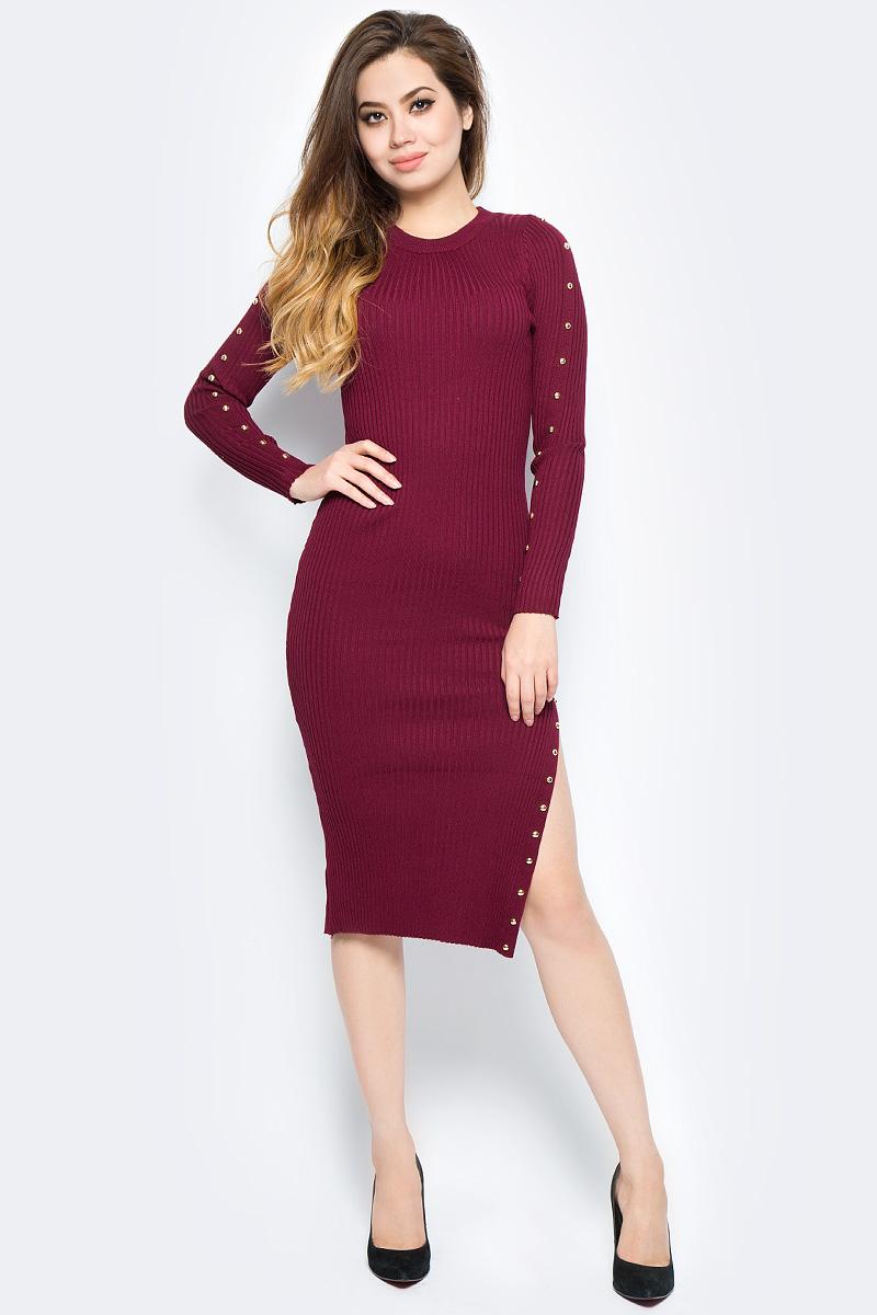 Платье Bello Belicci, цвет: бордовый. DLA5_10. Размер S/M (42/46)DLA5_10