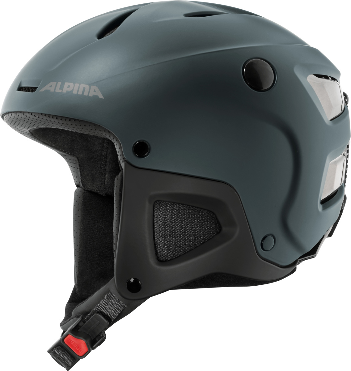 Шлем горнолыжный Alpina Attelas, цвет: темно-синий. A9089_80. Размер 58-61A9089_80Запатентованная новая революционная технология ERGO3 позволяет подстроить размер верхней части шлема по голове. Простая и интуитивно понятная регулировка позволяет добиться идеальной посадки на голову любой формы. Точная система с храповым замком позволяет простым движением руки сделать шире или уже и внутреннюю часть шлема. Система ERGO3 обеспечивает не только изменение объема, но и комфорт третьего поколения.Что взять с собой на горнолыжную прогулку: рассказывают эксперты. Статья OZON Гид