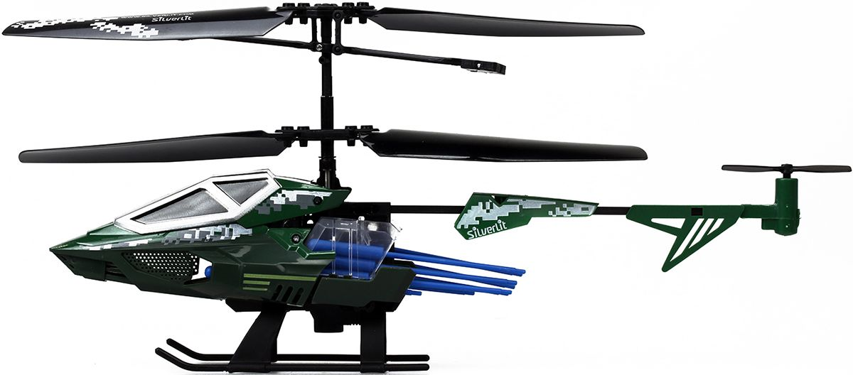 Silverlit Вертолет Heli Sniper самолеты и вертолеты silverlit вертолет 3 х канальный heli sniper 2 со стрелами зеленый