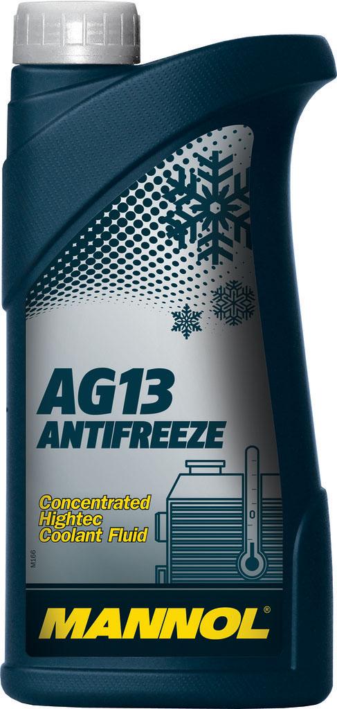 Антифриз MANNOL AG13+ Advanced, концентрат, 1 л2034Mannol AG13+ Advanced Antifreeze - концентрат на моноэтиленгликолевой основе, предназначенный для круглогодичного использования в любых современных системах охлаждения. Предохраняет от коррозии и накипи. Не вспенивается, нейтрален к прокладкам и шлангам. Придает достаточные противокоррозионные свойства уже при концентрации от 20%. Срок службы: 3 года.
