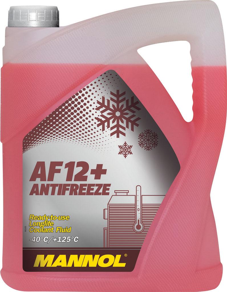 Антифриз MANNOL AF12+, готовый, 5 л2039Готовый антифриз MANNOL AF12+ произведен наоснове моноэтиленгликоля с применениемвысокотехнологичного пакета присадок на карбоксилатнойоснове. Не содержит силикаты. Обеспечивает надежнуюзащиту всех систем охлаждения.Рекомендован для двигателей, требующих улучшенноготеплоотвода - высокофорсированных двигателей, двигателейс турбонаддувом. Успешно предотвращает коррозию черных ицветных металлов, а также высокотемпературную коррозиюалюминиевых сплавов. Не содержит фосфатов, нитритов,аминов. Нейтрален по отношению к следующим металлам исплавам: латунь, медь, легированная сталь, чугун, алюминий.