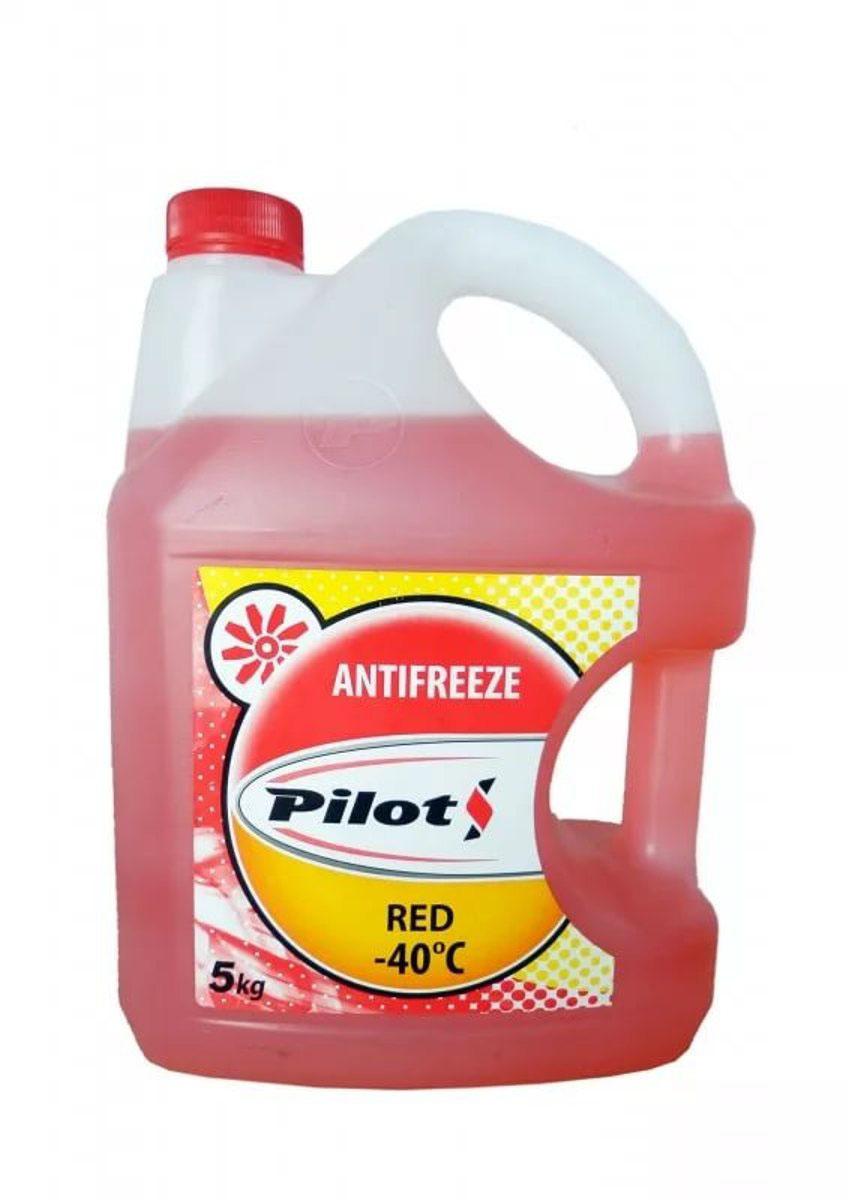 Антифриз Pilots Red Line, цвет: красный, -40°С, 5 л3207Готовый к применению антифриз предназначен для использования в системах охлаждения двигателей внутреннего сгорания современных автомобилей отечественного и зарубежного производства. Этиленгликоль, входящий в состав антифризов, помимо понижения температуры замерзания приводит к повышению температуры кипения охлаждающей жидкости, что является дополнительным преимуществом при эксплуатацииавтомобилей в теплое время года. Обеспечивает надежную работу системы охлаждения при температуре окружающей среды от -40°C до +50°С.