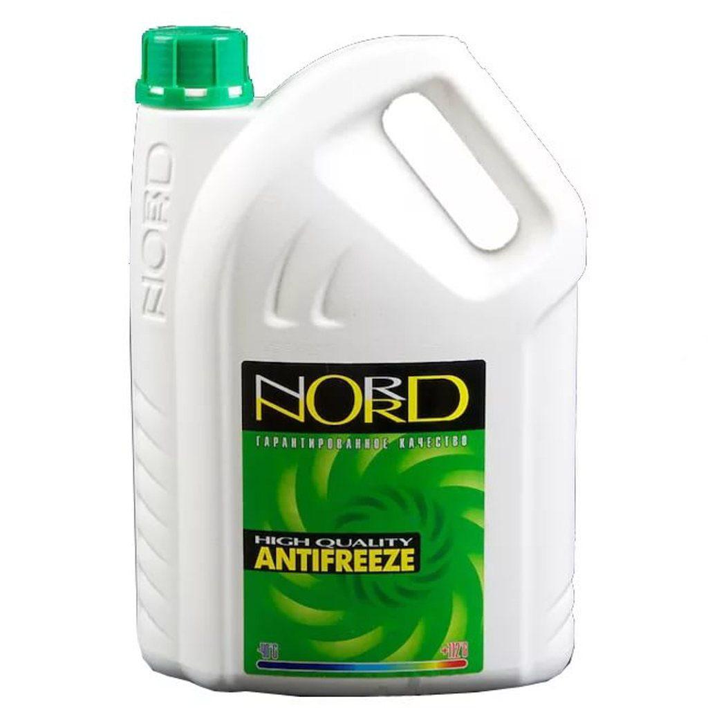 Антифриз Nord, цвет: зеленый, 3 л антифриз диксис зеленый москва