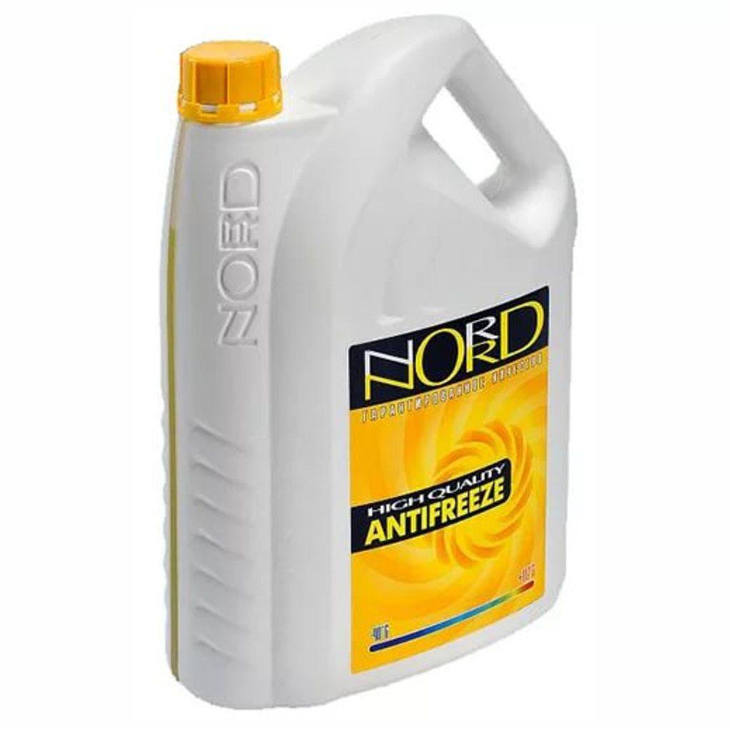 Антифриз Nord, цвет: желтый, 3 лNY 22304Ароматический диффузор Counrty Fresh Цветочный сад - охлаждающая жидкость для системы охлаждения автомобиля, не замерзающие при низкой температуре. Антифриз Nord обеспечивает: Защиту элементов системы охлаждения из металлов, пластика и резины от разрушающего воздействия высоких температур, коррозии и кавитации; Защиту и смазку сальника помпы, продлевая срок службы всего узла; Эффективное охлаждение и быстрый выход на рабочую температуру; Гарантированную работу при экстремальных температурах; Длительный интервал работы двигателя без замены антифриза. Визуальное обнаружение возможных утечек благодаря наличию флуоресцентных добавок.