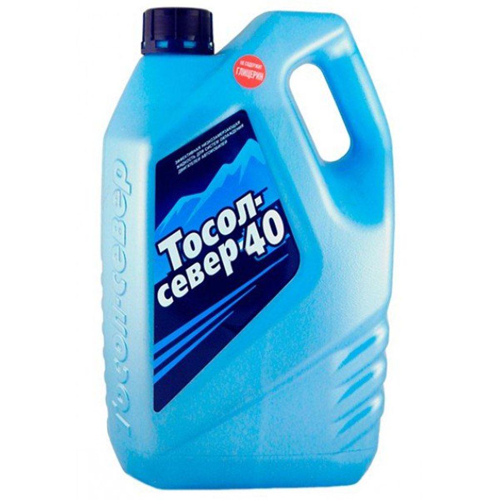 Тосол Север 40, 3 лTS 20034круглогодично используемая низкозамерзающая, охлаждающая жидкость с мощным антикоррозионным эффектом, готовая к применению.