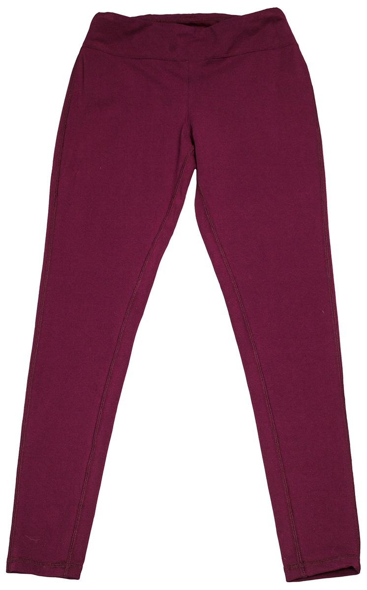 Леггинсы женские Converse Core Reflective Wordmark Legging, цвет: бордовый. 10004552262. Размер XS (42)10004552262