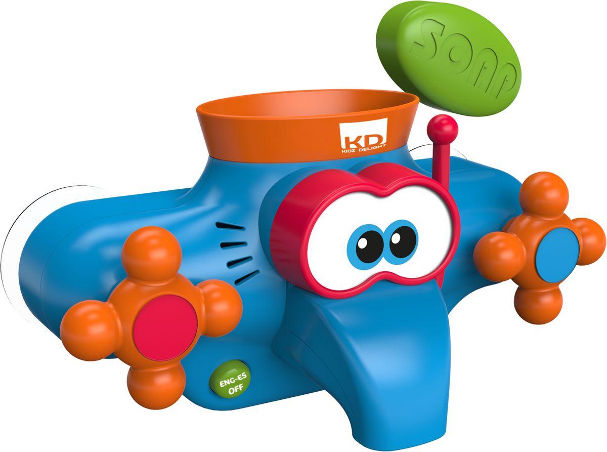 Kidz Delight Игрушка для ванной Веселый кран машинки kidz delight машинка полиция