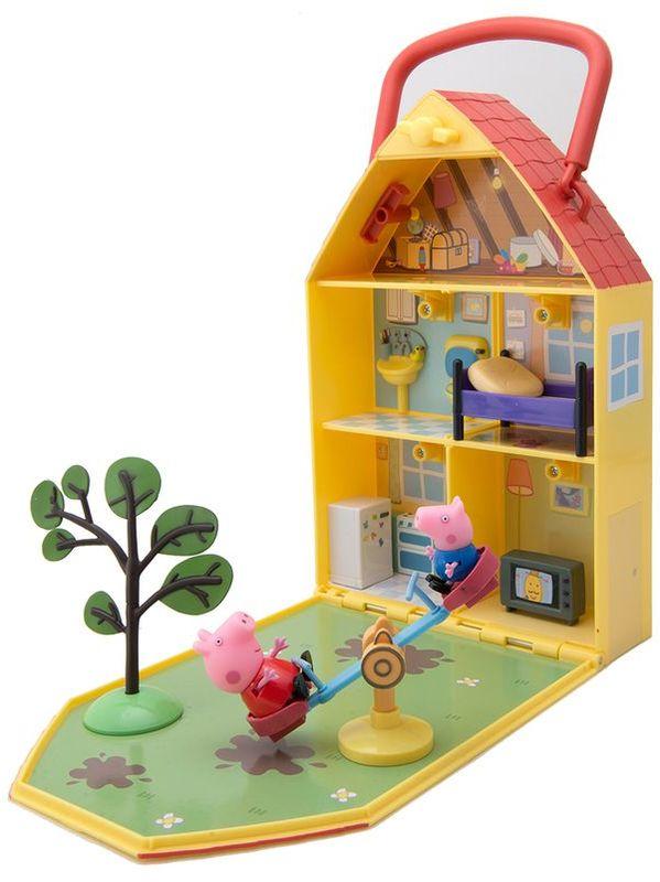 Свинка Пеппа Игровой набор Дом Пеппы с садом - Игровые наборы