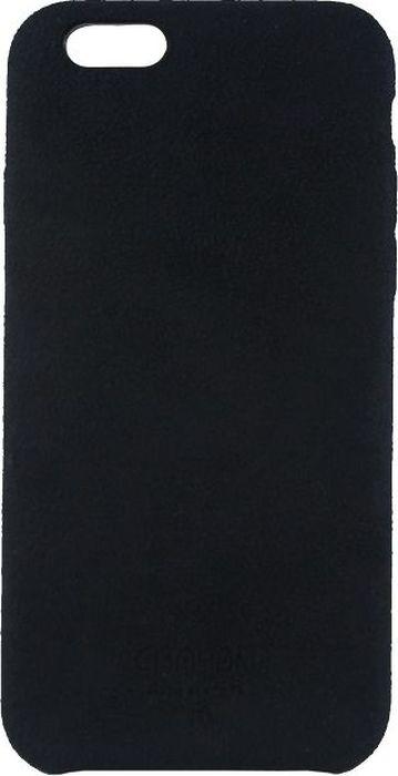 Crayon Generic Slim Case, Black чехол для iPhone 7CRN-GSCSIP7-blЧехол изготовлен из термопластичного полиуретана (ТПУ) - материала, который не подвержен замерзанию и резким перепадам температур. То есть телефон в чехле из ТПУ не тормозит на морозе. ТПУ не подвержен деформации, устойчив к разрыву и не проводит электрический ток. Чехол из ТПУ не притягивает пыль, устойчив к царапинам и другим механическим повреждениям, обладает противоударными свойствами. Чехол не утолщает устройство, обеспечивая легкий доступ ко всем функциональным клавишам телефона. Внешняя поверхность чехла выполнена из натуральной замши. Необычно, стильно, надежно.