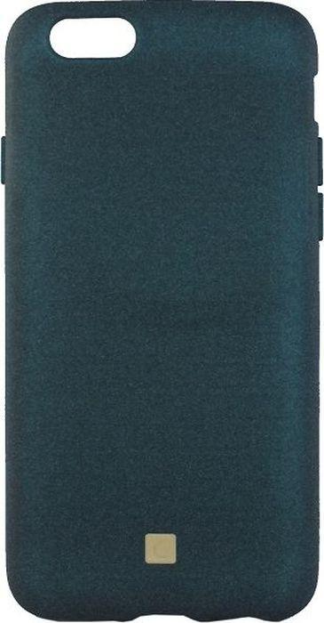 Crayon Pebble, Blue чехол для iPhone 6/6SCRN-PEIP6-deep blueЧехол изготовлен из термопластичного полиуретана (ТПУ) - материала, который не подвержен замерзанию и резким перепадам температур. То есть телефон в чехле из ТПУ не тормозит на морозе. ТПУ не подвержен деформации, устойчив к разрыву и не проводит электрический ток. Чехол из ТПУ не притягивает пыль, устойчив к царапинам и другим механическим повреждениям, обладает противоударными свойствами. Чехол не утолщает устройство, обеспечивая легкий доступ ко всем функциональным клавишам телефона.Внешняя поверхность чехла выполнена из материала с интересной текстурой. Необычно, стильно, надежно.