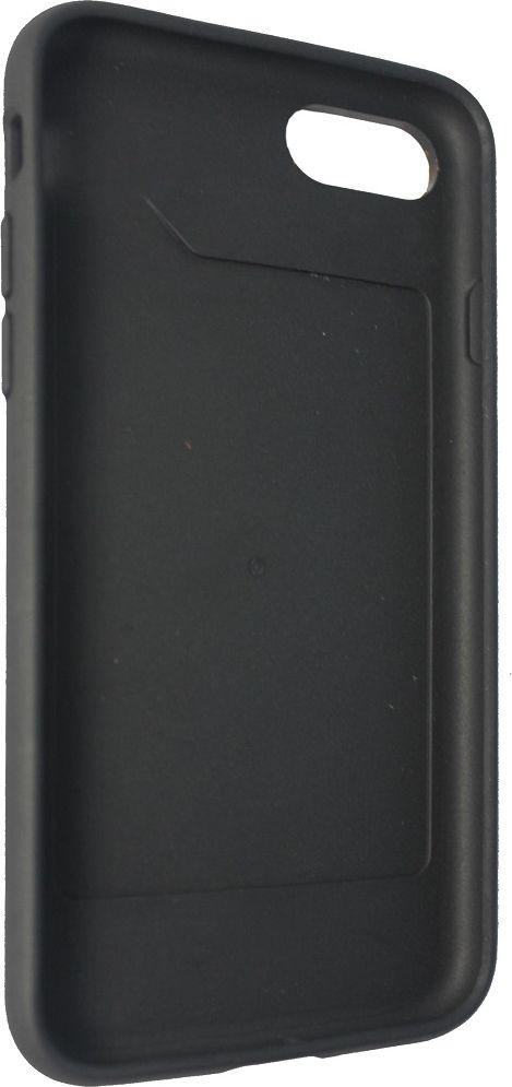 Crayon Rugged, Black чехол для iPhone 7CRN-RLIP7-blЧехол изготовлен из термопластичного полиуретана (ТПУ) - материала, который не подвержен замерзанию и резким перепадам температур. То есть телефон в чехле из ТПУ не тормозит на морозе. ТПУ не подвержен деформации, устойчив к разрыву и не проводит электрический ток. Чехол из ТПУ не притягивает пыль, устойчив к царапинам и другим механическим повреждениям, обладает противоударными свойствами. Чехол не утолщает устройство, обеспечивая легкий доступ ко всем функциональным клавишам телефона. Внешняя поверхность чехла выполнена из натуральной кожи. Необычно, стильно, надежно.