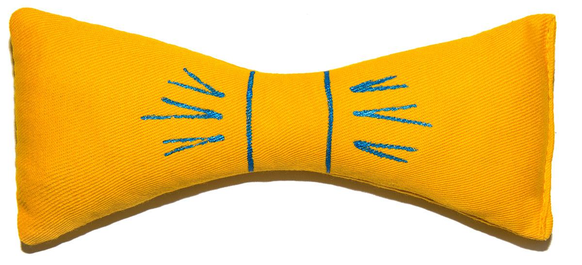 Игрушка для кошек Smart Textile Бантик, декорированный, цвет: желтый, 18 смGC367Игрушка для кошек Smart Textile Бантик изготовлена из натурального хлопка и выполнена в виде бантика. Игрушка с наполнителем из 100% натуральной кошачьей мяты способна успокоить кошку после активной игры или взбодрить если питомец ленится. Форма и размеры игрушки созданы специально для того, чтобы кошка смогла играть ей всеми лапами одновременно. Забавные и безопасные, игрушки способны отвлечь и успокоить питомца в различных поездках или у ветеринара, будут отличным стимулом для привлечения любимца к порядку.Размеры: 18 х 6 х 3 см.