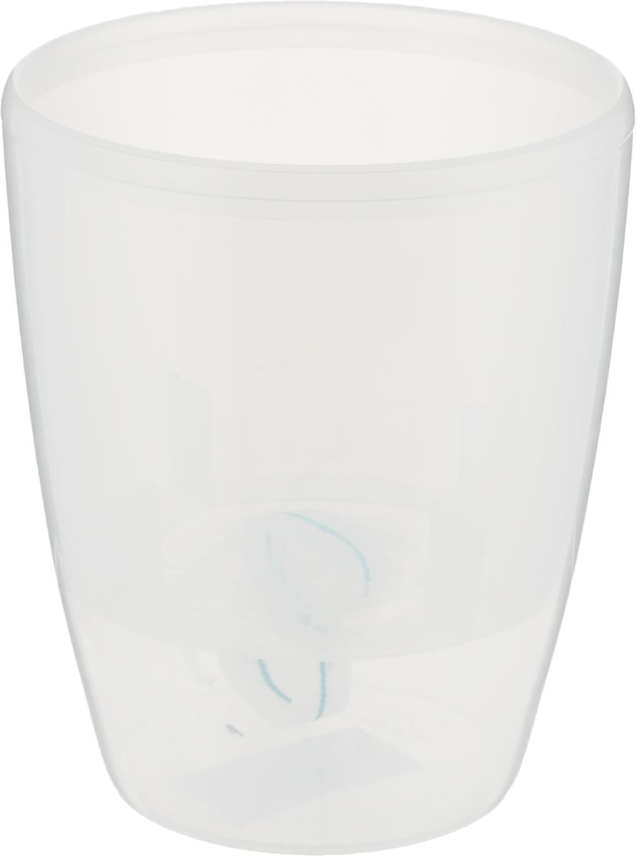 Горшок для орхидей Santino Твин, с системой фитильного автополива и контролем уровня воды, цвет: прозрачный, 1,3 л01 TRAСистем автополива с контролем уровня воды - гарантия здоровья ваших цветов. Экономия времени - решение для самых занятых. Чистота и удобство - нет протекания воды при поливе. Здоровые корини - нет застаивания корней в воде. Оптимальный рост - корни обеспечены циркуляцией воздуха.